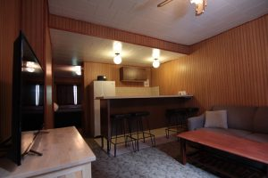 Miette Hot Springs Bungalows interior