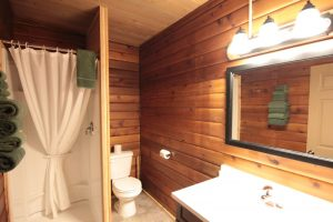 Miette Hot Springs Bungalows bathroom